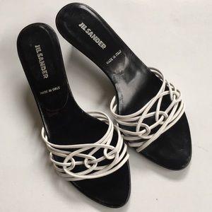 EUC Jil Sander leather heels